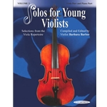 Barber Solos For Young Violists Volume 3