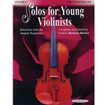 Barber Solos For Young Violinists Vol 6