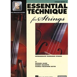 Essential Technique (Elements) 2000 For Strings - Violin Book 3