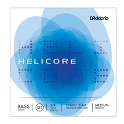 D'Addario Helicore Orchestra Bass String Set